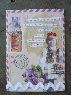 N Postcard