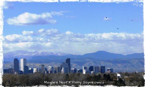 Denver Skyline from hotel