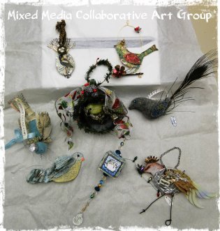 Mixed Media Collaborative Art Group VA