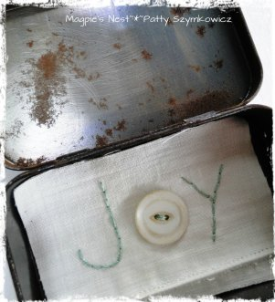 Beeswax JOY tin