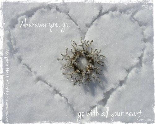 Confucius Snow Heart
