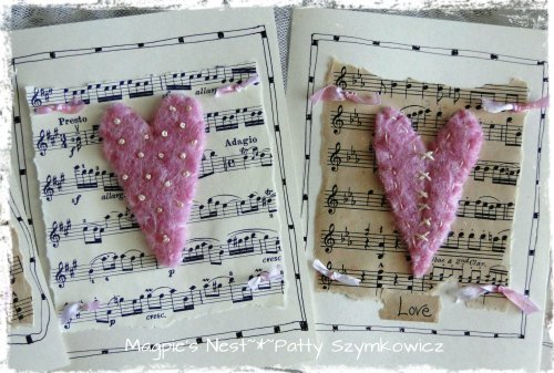 Heart Cards Closeup