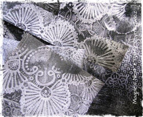 Patty Szymkowicz Gelli Monoprints