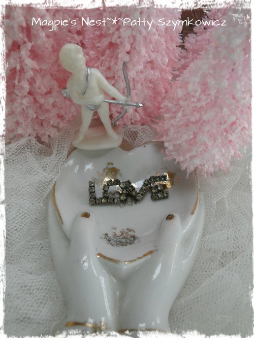 Cupid Rhinestone Love