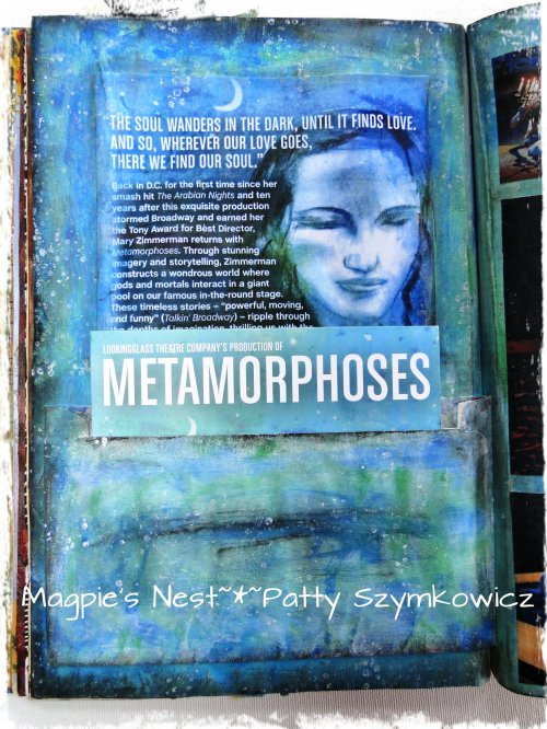 Metamorphoses journal pg left