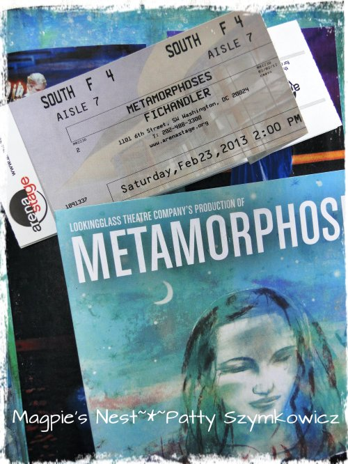 Metamorphoses journal pg tickets