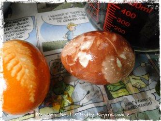 onion dye  reveal