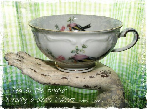 Patty Szymkowicz Picnic Tea Indoors 2