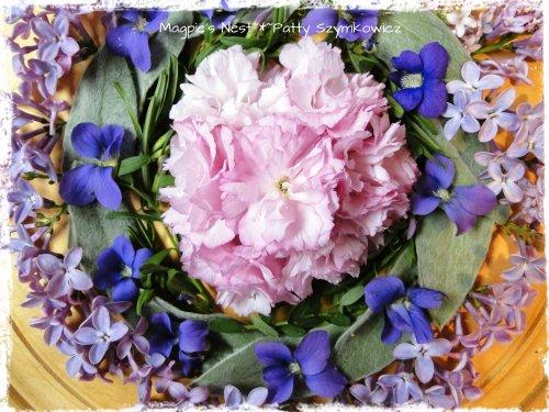 Cherry Violet Lilac Mandala