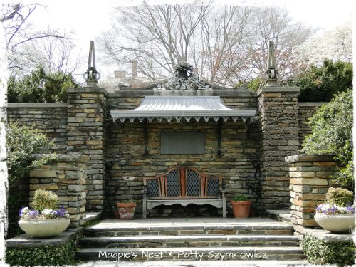 Dumbarton Oaks bench