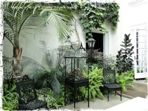 Longwood Peirce-du Pont house atrium