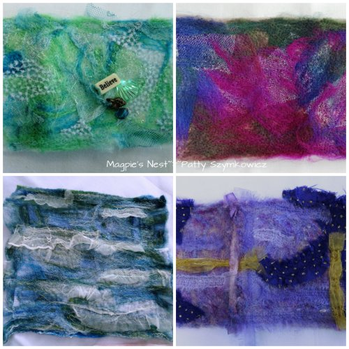 Needle Felting Works in Progress