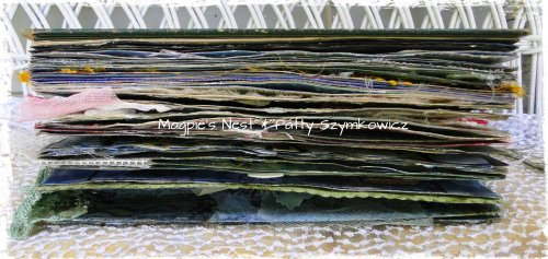 Patty Szymkowicz Finished Funk&Wagnalls Art Journal side view