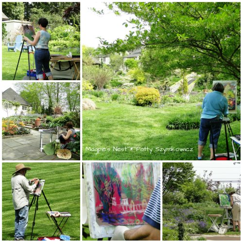 Plein Air Painters at Chanticleer