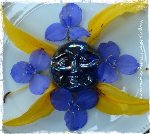 1 July Blue Sunshine Mandala