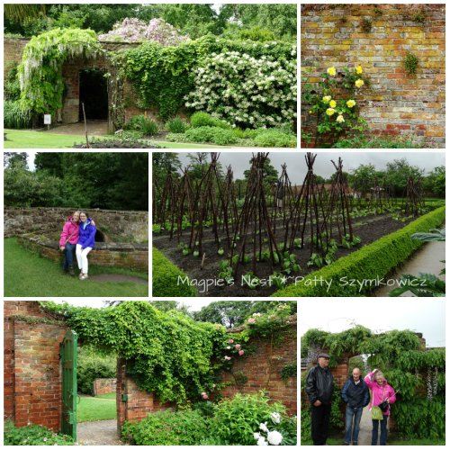 Calke Abbey Garden collage