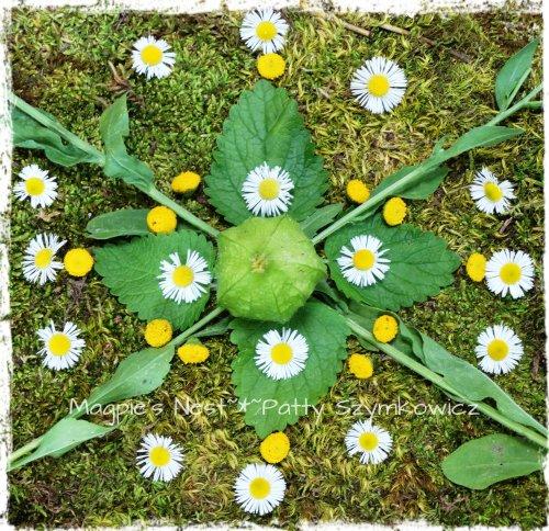 Daisy Green Mandala (2)