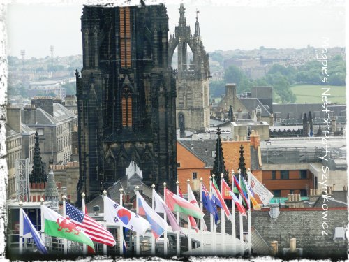 Edinburgh Flags