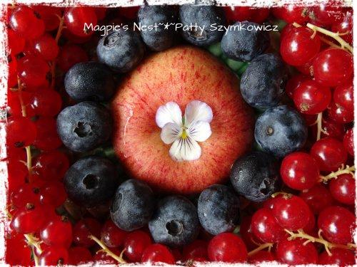 Red Currant Blueberry Apple Mandala (1)