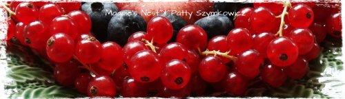 Red Currant Blueberry Apple Mandala