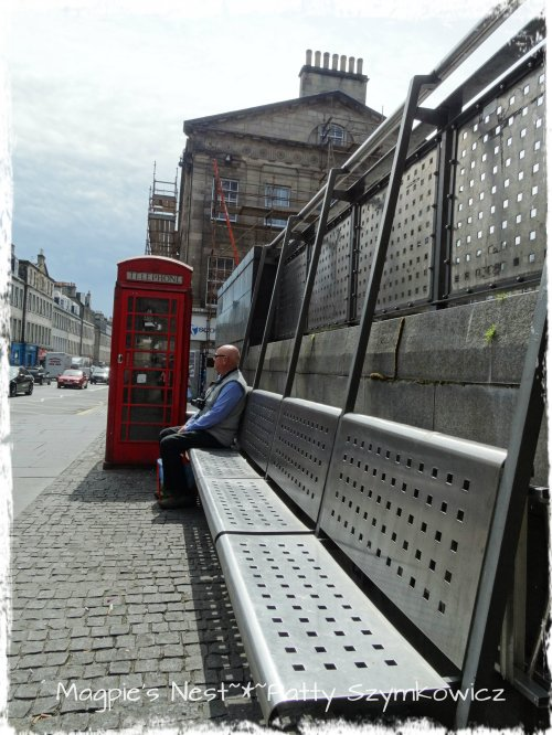 #10 Edinburgh Scotland bench