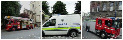 #15 English Fire Engine, Irish Police, Scottish Fire Engine