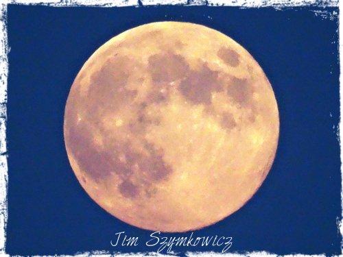 20 August 2013 moon over Virginia USA