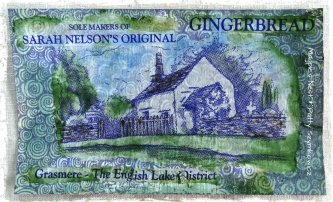 Grasmere Gingerbread packaging
