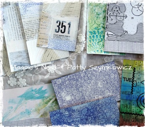 Index card backgrounds