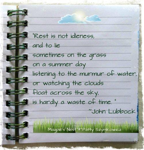 Summer Quote John Lubbock