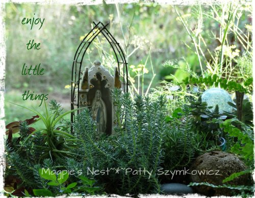 Fairy Garden Mother Mary