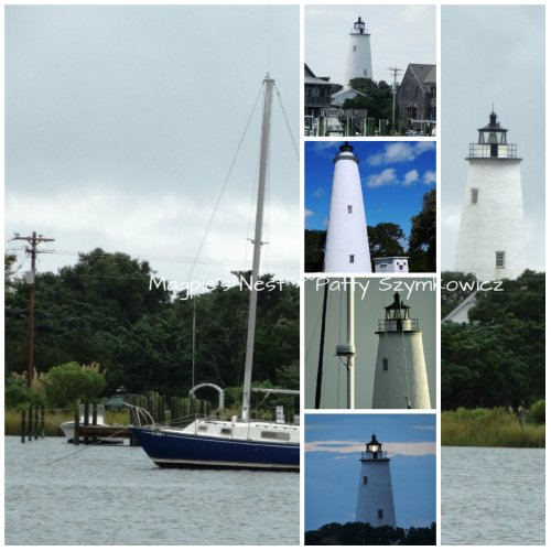 Ocracoke Lighthouse Collage