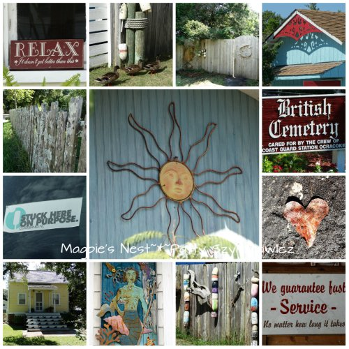 Ocracoke Village Collage