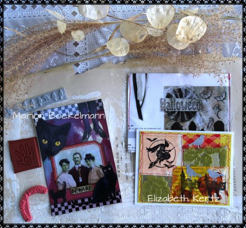 Magpies Nest Surprise Halloween Mail