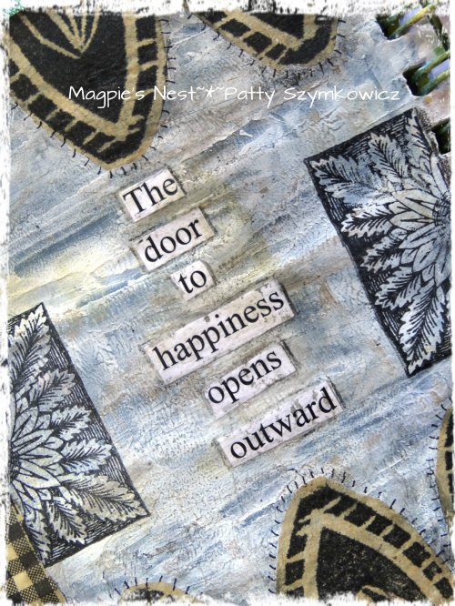 Doors Art Journal Pages (1)