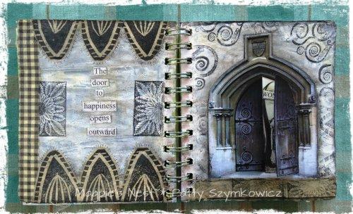 Doors Art Journal Pages