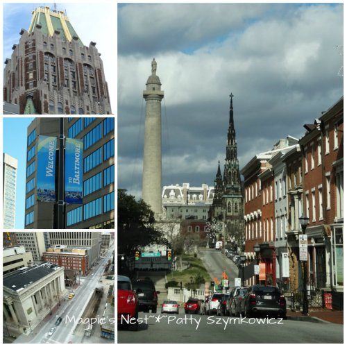 Baltimore City collage