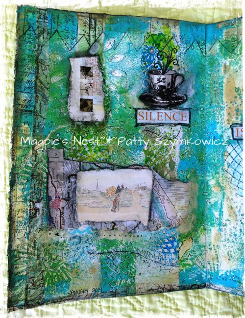 finished SILENCE journal page left