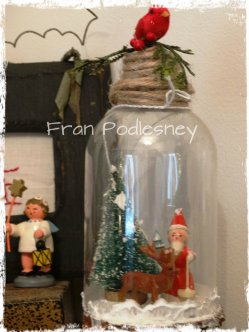 Fran Podlesney's altered bottle
