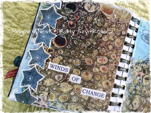 Winds of Change Art Journal Pages