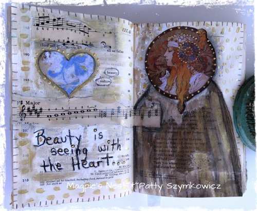 Full Circle Art Journaling * Part Three