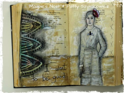 Gesso Full Circle Journal pages (1)