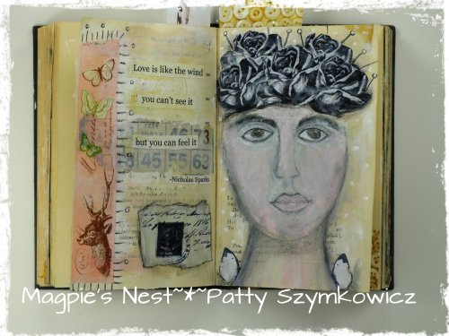 Gesso Full Circle Journal pages (2)