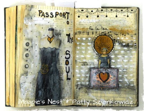 Gesso Full Circle Journal pages (3)
