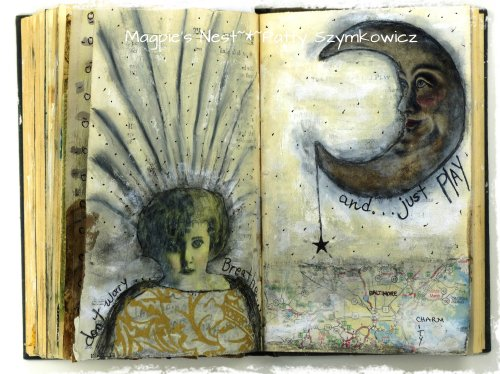 Gesso Full Circle Journal pages (4)