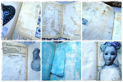 Journal pages in process