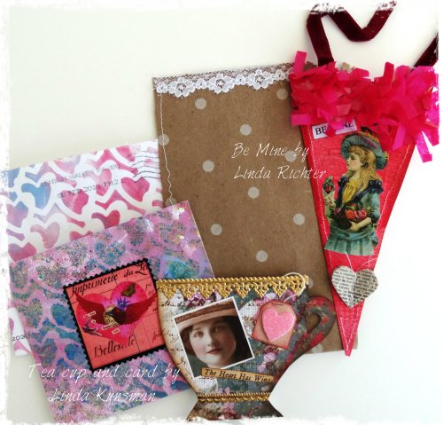 Valentines from Linda Kunsman and Linda Richter
