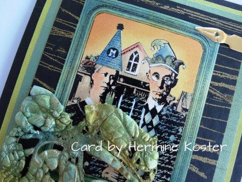Hermine's lovely card