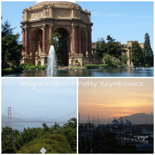 Palace of Fine Arts Golden Gate Bridge SF
