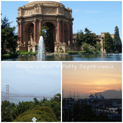 Palace of Fine Arts Golden Gate Bridge SF